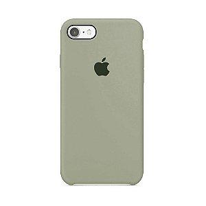 Capa para iPhone 6 e 6s em Silicone Apple Cinza