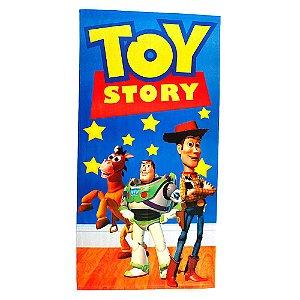 Toalha De Banho Felpuda Toy Story Infantil Personagens