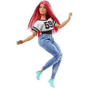 Boneca Barbie Feita Para Mexer Esportista Bailarina - Mattel