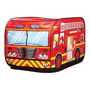 Brinquedo Infantil Caminhão Dos Bombeiros Barraca Bombeiro