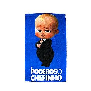 Toalha de Rosto Felpuda O Poderoso Chefinho Infantil Personagens