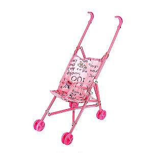 Brinquedo Infantil Carrinho De Boneca Dobrável Para Meninas