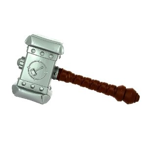 Brinquedo Infantil Martelo Mjölnir De Batalha  Do Herói Thor