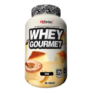 Whey Protein Gourmet Suplemento 907g - Pudim - FN Forbis