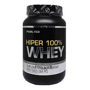Whey Protein 100% Hiper Suplemento 900g - Chocolate - Probiotica