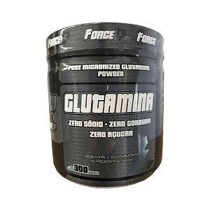 Suplemento Alimentar De Glutamina 300g - Sem Sabor - ForceUP