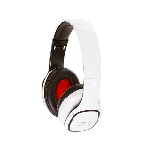 Fone De Ouvido Estéreo Bluetooth Sem Fio FON-8159 - Branco - Inova