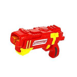 Super Arma Lançadora De Bayblades Brinquedo Infantil Vermelho TK-HD001