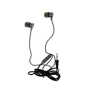 Fone De Ouvido Estéreo Com Design Aprimorado Chumbo FON-2101D - Inova