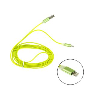 Cabo De Carregamento De Iphone Tipo Lightning Verde 1,5M - Apple