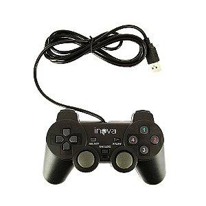 Controle USB Joystick Com Entrada PC CON-7190 - Inova