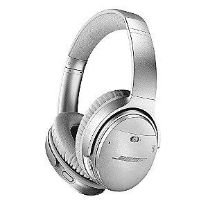 Bose QuietComfort Noise Cancelling 35 II Fone de Ouvido Sem Fio Headphone Com Cancelador De Ruídos Wireless - Cinza