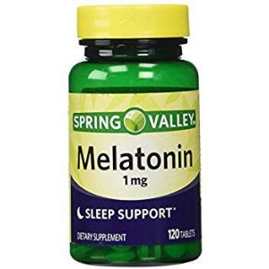 Suplemento Melatonina 1mg Spring Valley 120 Cápsula