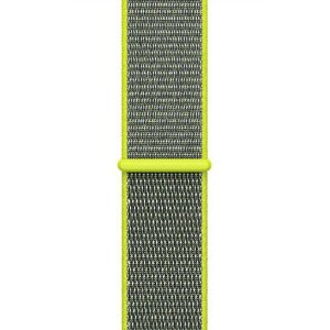Pulseira Nylon Sport Loop Para Apple Watch 42mm - Verde