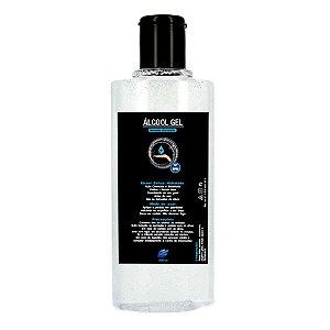 Álcool Gel Etílico Hidratado 70 INPM Germicida E Bactericida Higiene Pessoal 200ml Vie Luxe Paris