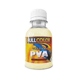 Tinta PVA fullcolor fosco 100 ml AMARELO BEBÊ
