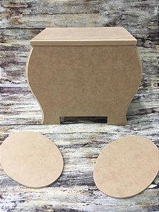Caixa Abaulada com duas placas