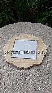 Bandeja Pinus bordas detalhe