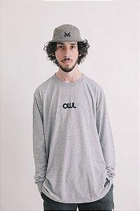 Camiseta Manga Longa OWL New Stuff - Mescla
