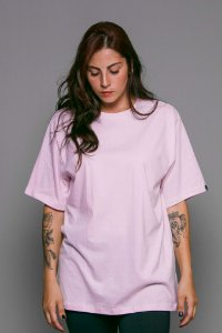 Camiseta Básica OWL - Rosa Bebê
