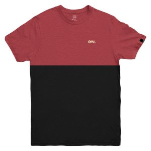 Camiseta OWL Dublê Bordado - Red Fly Nat
