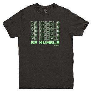 Camiseta OWL Be Humble - Cinza Chumbo