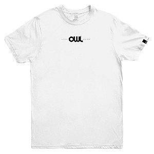 Camiseta OWL New Stuff - Branco