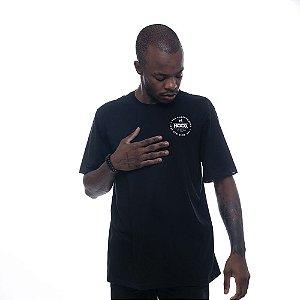 Camiseta Owl Hood Circle - Preto