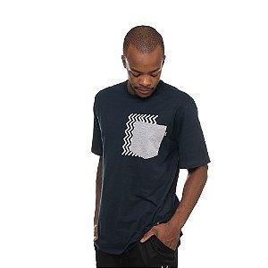 Camiseta Owl Middle - Azul Marinho