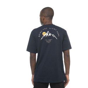 Camiseta Owl Bring the Light - Azul Marinho