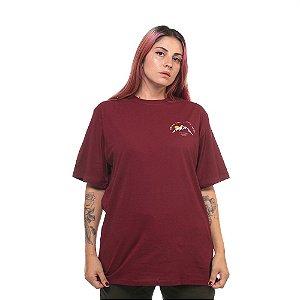 Camiseta Owl Bring the Light - Bordô