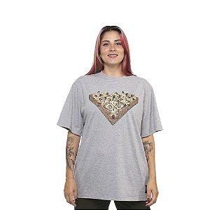 Camiseta Owl Snooker - Mescla Cinza