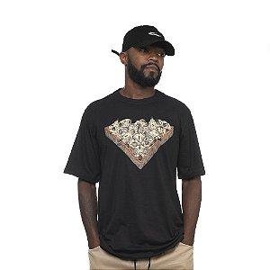Camiseta Owl Snooker - Preto