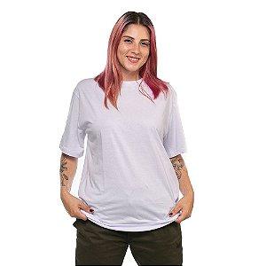 Camiseta Básica OWL Algodão Premium - Branco