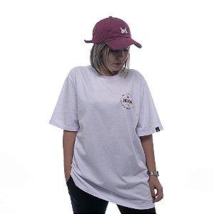 Camiseta OWL Hood Circle - Branco