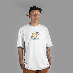 Camiseta OWL Paradise - Branco
