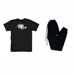Kit Camiseta É o Vale + Calça Jogger