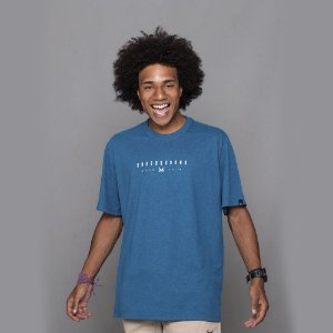 Camiseta OWL Lines - Azul Cancun