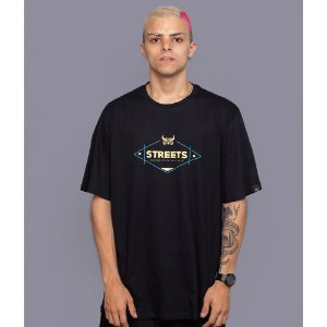 Camiseta OWL Street Knowledge - Preto