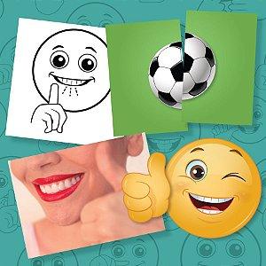 [KIT] MultiCartas Smiles + Fotos + Dissílabos + Carimbos