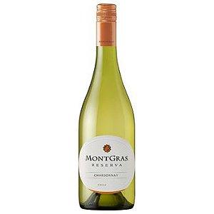 Vinho Branco Chardonnay Montgras Reserva  2016 - 750mL
