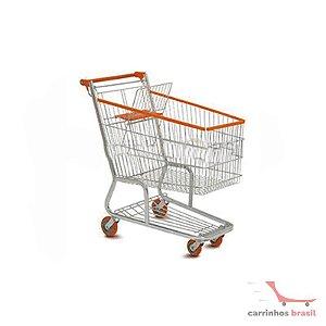 Carro supermercado 160 lts