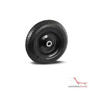 Rodinha pneumática 3.50-8 eixo 1 rolete
