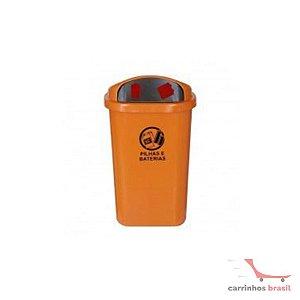 Coletor para pilhas e baterias 50 lt  ST6p