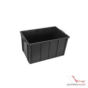 Caixa fechada 61 lts cor preta CX4