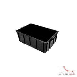 Caixa fechada 39,5 lts cor preta CX3