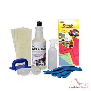 Kit limpeza alumínio KCLA01