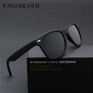 Óculos Kingseven Vintage 7140 - lentes polarizadas - antirreflexo - UV400