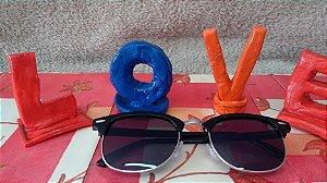 Óculos de Sol feminino linha Love