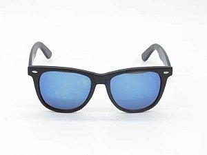 Óculos de Sol espelhado azul unissex - proteção UV400